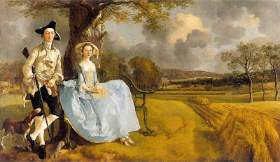 Thomas Gainsborough  - Mr and Mrs Andrews