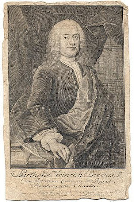 portrait de Brockes -