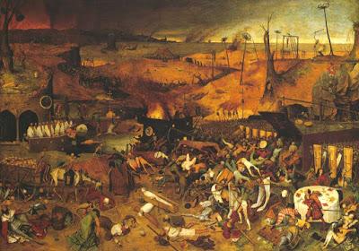 Pieter Bruegel l'Ancien - le triomphe de la mort - 1562