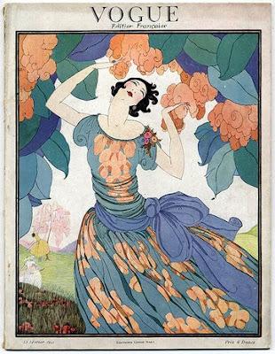 helen dryden - Vogue cover 1921