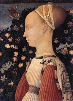 Pisanello 1395-1455 - Portrait d'une jeune princesse d'Este