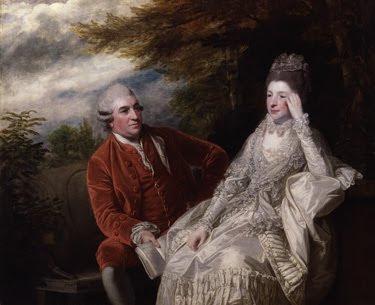 joshua reynolds- david garrick and his wife eva veigel