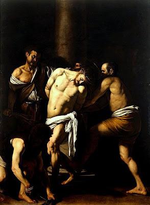 Caravaggio-La Flagellazione di Cristo.