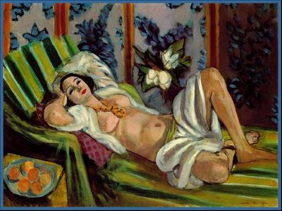 Matisse - Odalisque with Magnolias