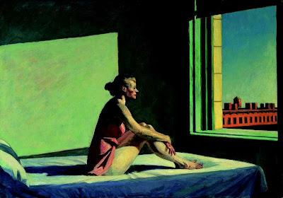 Edward Hopper - Morning Sun (Soleil du matin), 1952