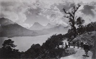 Eadweard Muybridge  - Lake Atitlan, Guatemala