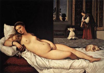 Titien = Venus d'Urbino