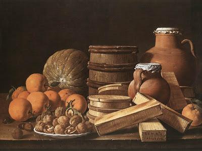 Luis Egidio Meléndez  1716-1780 Still Life with Oranges and Walnuts