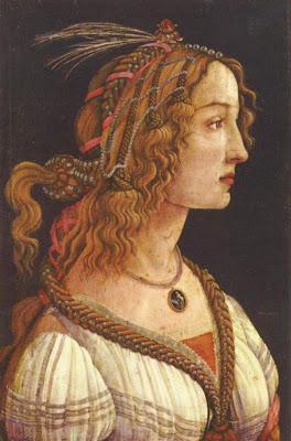 Sandro Botticelli (1445-1510)-Simonetta  Vespucci