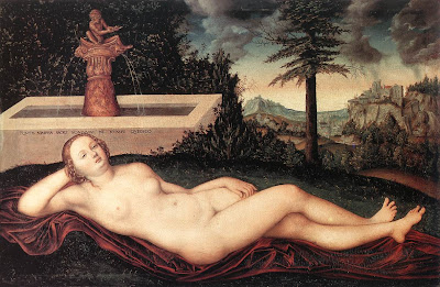 Lucas Cranach the Elder, Nymph of the Fountain