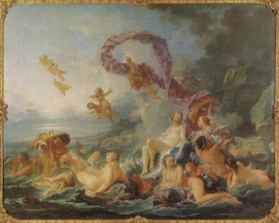 François Boucher - le triomphe de Vénus- 1740