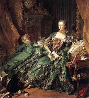 françois boucher 1703-1770- madame de pompadour