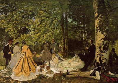 Claude Monet (1840-1926) Le déjeuner sur l'herbe
