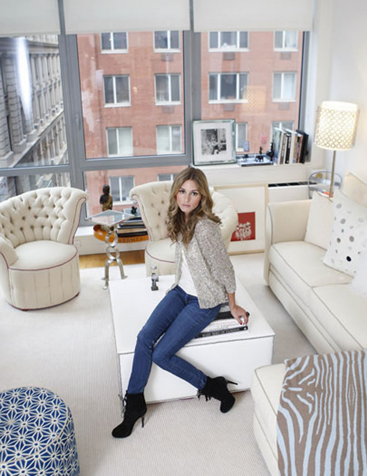Olivia Palermo apartment in New York