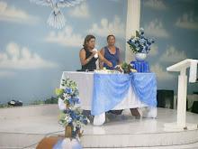 Ministrando a Santa Ceia na Sede Taboão