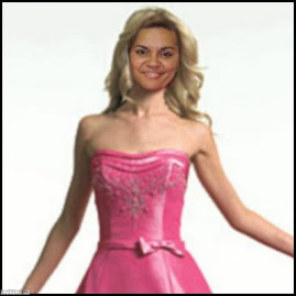 Meu Deus, estou parecendo a Barbie