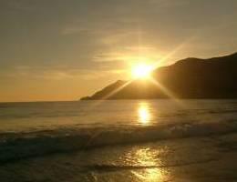 Atardecer.. Playa Grande