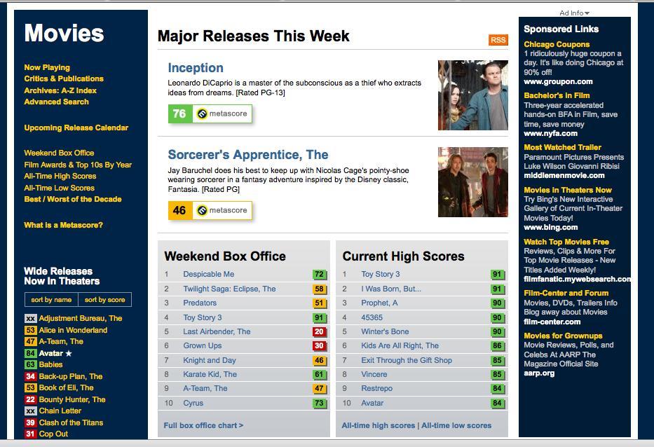 Review: Metacritic.com/film