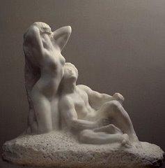Ο Ποιητής και η Μουσα του ! Του Auguste Rodin.