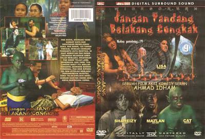 Jangan Pandang Belakang Congkak (2009) DVD Cover