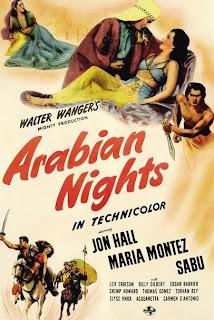 Arabian Nights (1942) Original poster