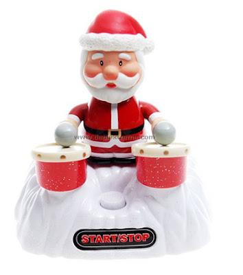 Musical Santa Drummer