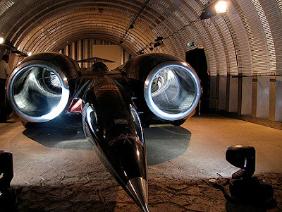 ThrustSSC world first supersonic land vehicle