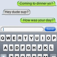 Apple iphone reviews- SMS conversation out of order