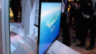 Samsung paper thin LCD display