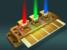 Laser TV image