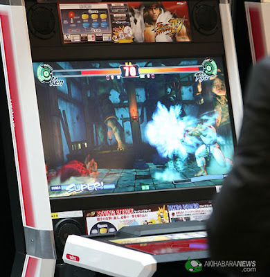 Official debut of Street Fighter in Japan