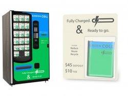 Green cellphone battery