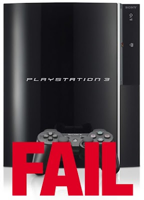 Sony PS3 Fail