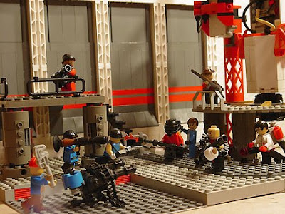 Lego fortress 2 team