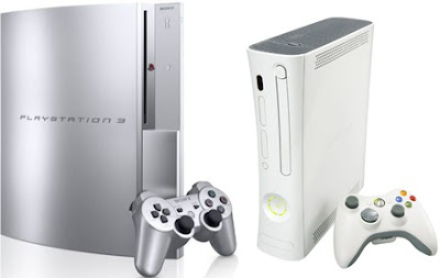 Silver satin PS3 Xbox 360 in Japan