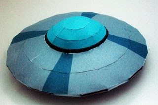 Elvis Spaceship Papercraft Perfect Dark