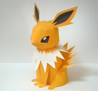 Pokemon Jolteon Papercraft