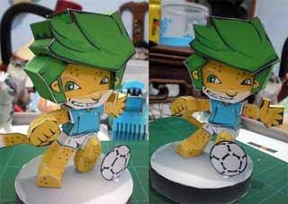 Zakumi Papercraft Team Italy