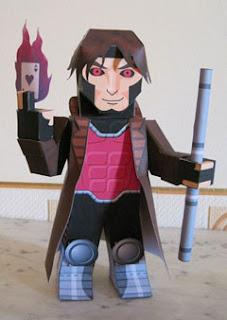 Gambit Papercraft