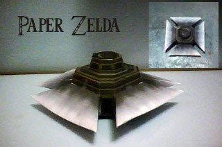 Blade Trap Papercraft