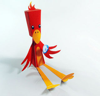 Build Your Own Phoenix Papercraft