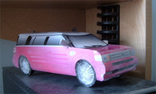 Ford Flex Papercraft
