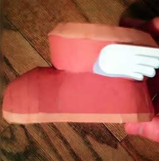 Pegasus Boots Papercraft