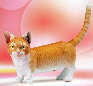 Munchkin Cat Papercraft