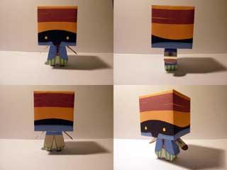 Vivi Papercraft