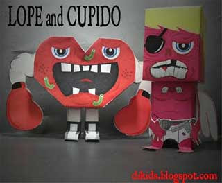 Cupid Papercraft