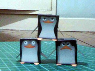 Madagascar Penguin Papercraft