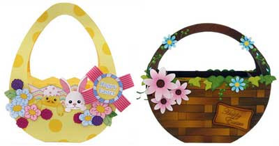 2010 Easter Basket Papercraft