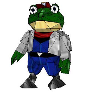 Slippy Toad Papercraft