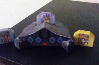 Nintendo 64 Console Papercraft